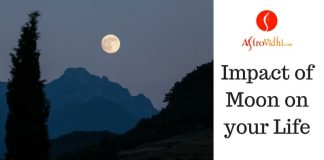 Impact of Moon on your Life