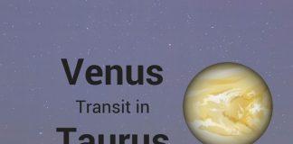 Venus Transit in Taurus