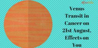 Venus Transit in Cancer 2017