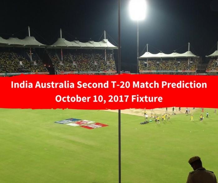 India Australia Second T-20 Match Prediction