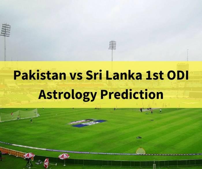 Pakistan vs Srilanka Dubai First ODI astrology prediction