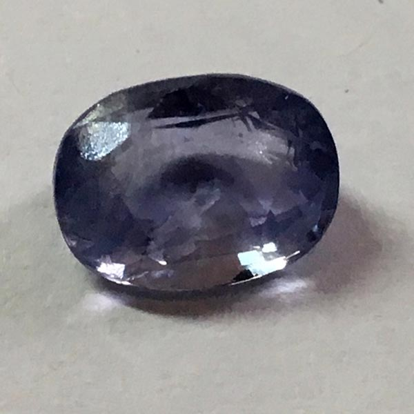 Natural Blue Sapphire - 3.86 Ct