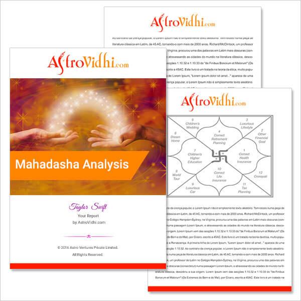Mahadasha Analysis