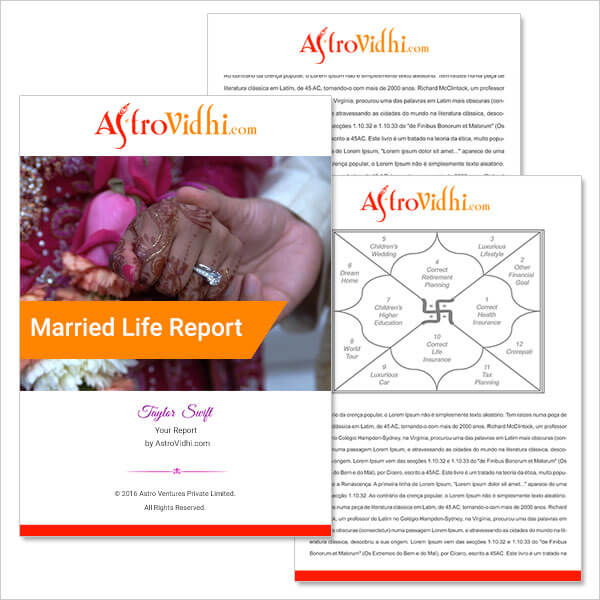 Married Life Report