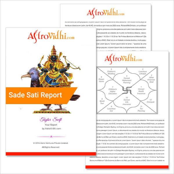 Sade Sati Report