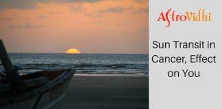 Sun Transit in Cancer