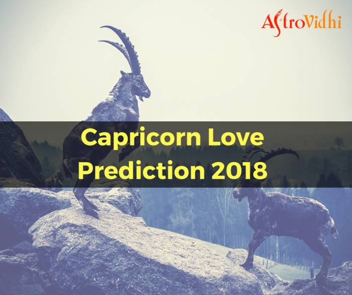 Capricorn Love Prediction 2018