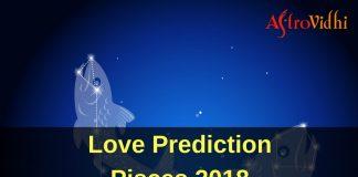 Love Prediction Pisces 2018