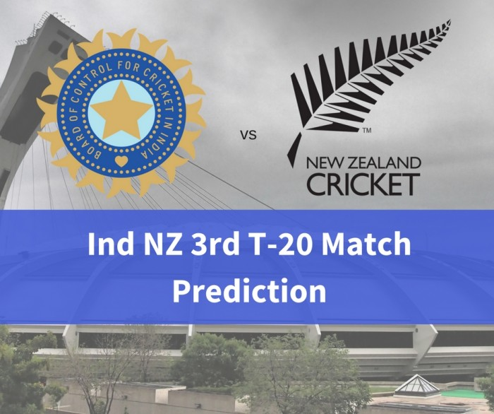 India NZ Third T-20 Match Prediction