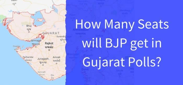 How Many Seats will BJP get in Gujarat Polls?