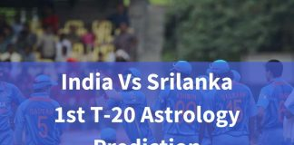 India vs Srilanka 1st T-20 Astrology Prediction