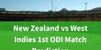 New Zealand vs West Indies 1st ODI Match Prediction