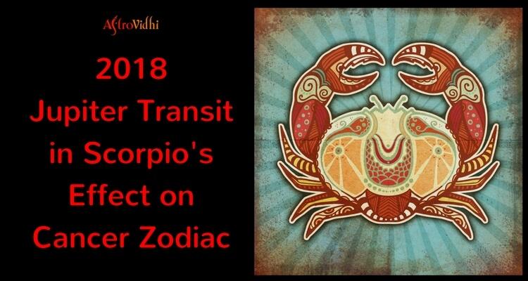 2018 Jupiter Transit in Scorpio Effect on Cancer Zodiac
