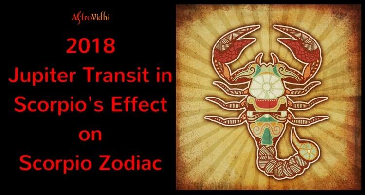 2018 Jupiter Transit in Scorpio Effect on Scorpio Zodiac