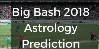 Big Bash 2018 Astrology Prediction