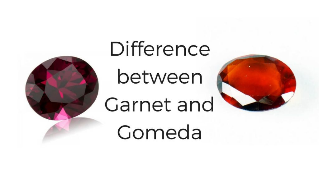 Difference between Garnet and Gomeda