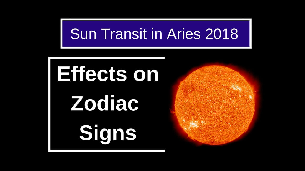 Sun Transit in Aries 2018
