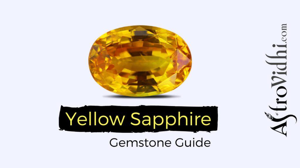 Yellow Sapphire Gemstone Guide