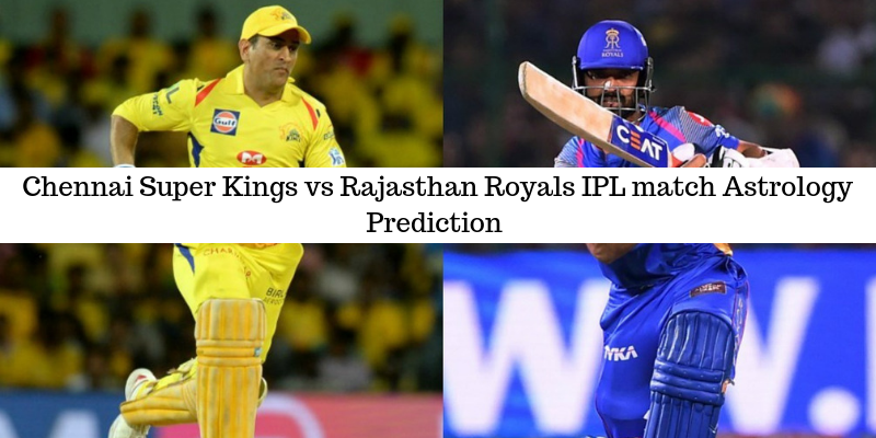 CSK vs RR IPL prediction