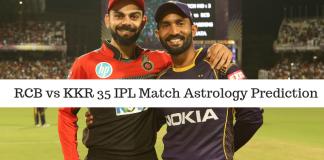 KKR vs RCB IPL Astrology Prediction