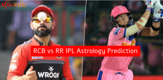 RCB vs RR IPL mtach Prediction
