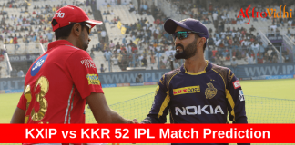 KKR vs KXIP Ipl prediction