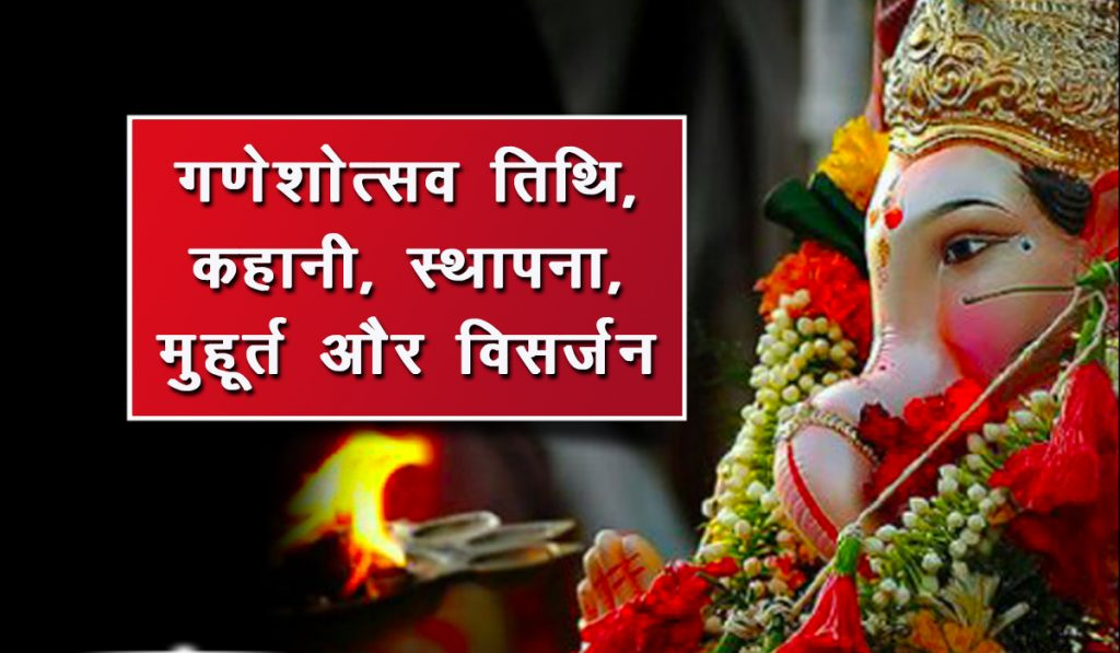 Ganeshotsav Puja and Auspicious time and Date