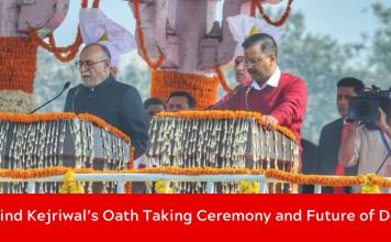 Arvind Kejriwal oath ceremony