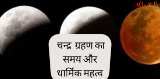 chandra grahan time and importance